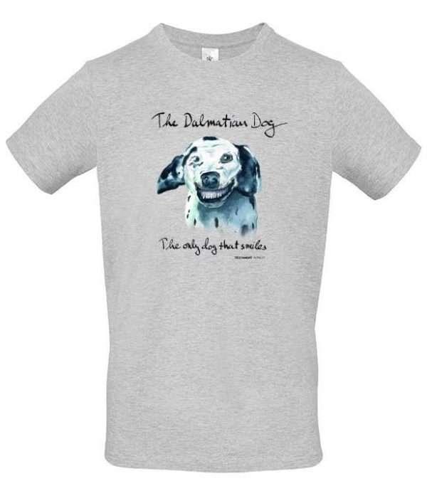 T-shirt Doggen grå