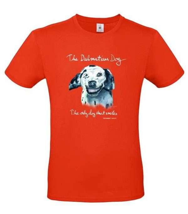 T-shirt Doggen orange