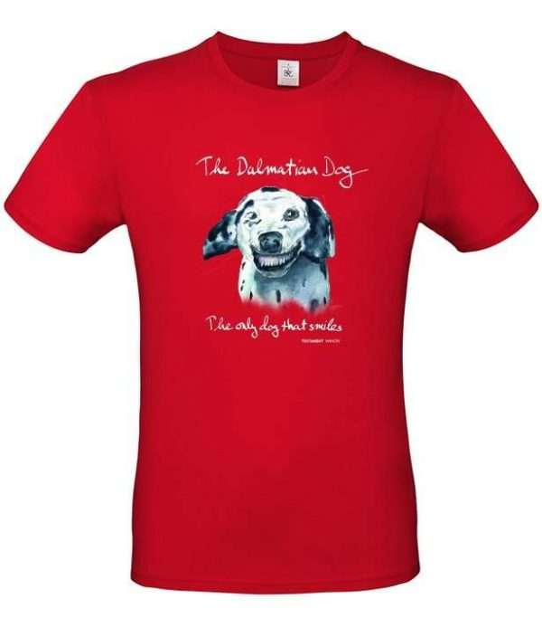 T-shirt Doggen röd