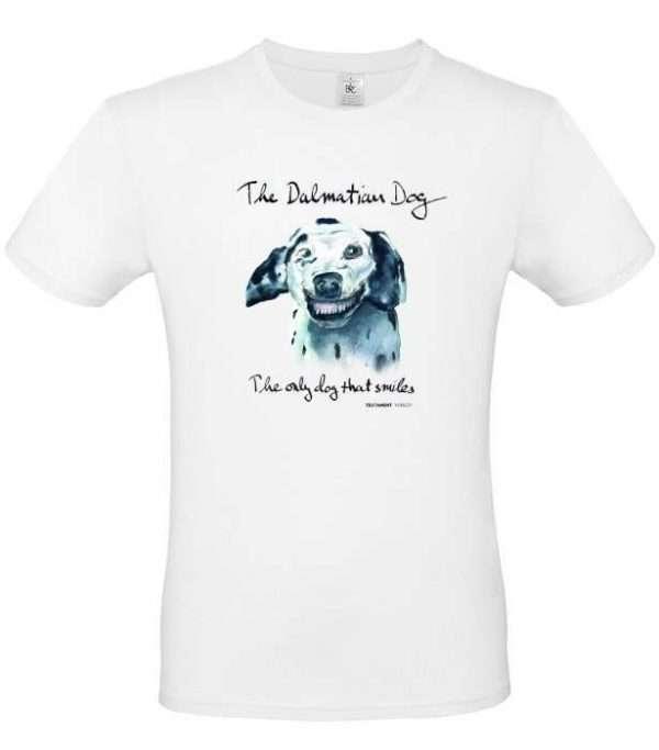 T-shirt Doggen vit