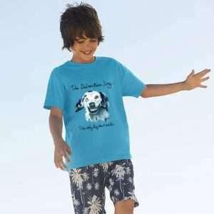 T-shirt barn Doggen